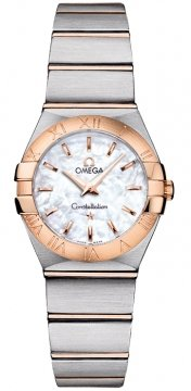 Buy this new Omega Constellation Brushed 24mm 123.20.24.60.05.001 ladies watch for the discount price of £2,556.00. UK Retailer.