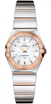 Buy this new Omega Constellation Polished 24mm 123.20.24.60.05.003 ladies watch for the discount price of £2,556.00. UK Retailer.