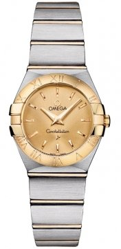 Omega Constellation Brushed 24mm Ladies watch, model number - 123.20.24.60.08.001, discount price of £2,155.00 from The Watch Source