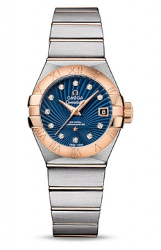Buy this new Omega Constellation Co-Axial Automatic 27mm 123.20.27.20.53.001 ladies watch for the discount price of £4,824.00. UK Retailer.