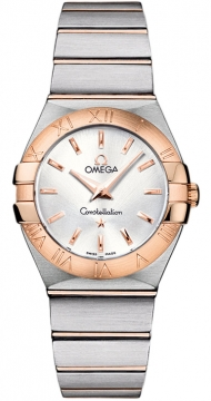 Omega Constellation Brushed 27mm Ladies watch, model number - 123.20.27.60.02.001, discount price of £2,592.00 from The Watch Source