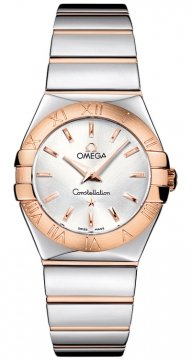 Omega Constellation Polished 27mm Ladies watch, model number - 123.20.27.60.02.003, discount price of £2,592.00 from The Watch Source