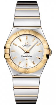 Omega Constellation Polished 27mm Ladies watch, model number - 123.20.27.60.02.004, discount price of £2,592.00 from The Watch Source