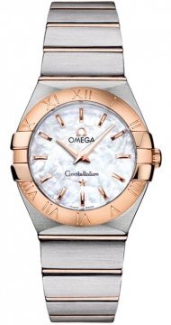 Buy this new Omega Constellation Brushed 27mm 123.20.27.60.05.001 ladies watch for the discount price of £2,805.00. UK Retailer.