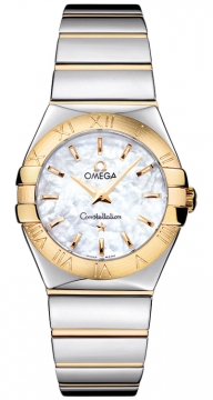 Buy this new Omega Constellation Polished 27mm 123.20.27.60.05.004 ladies watch for the discount price of £2,736.00. UK Retailer.