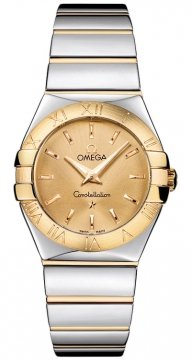 Omega Constellation Polished 27mm Ladies watch, model number - 123.20.27.60.08.002, discount price of £2,320.00 from The Watch Source