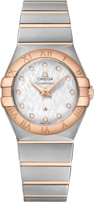 Buy this new Omega Constellation Brushed 27mm 123.20.27.60.52.002 ladies watch for the discount price of £3,060.00. UK Retailer.