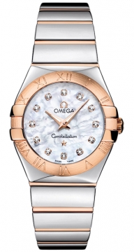 Buy this new Omega Constellation Polished 27mm 123.20.27.60.55.003 ladies watch for the discount price of £3,256.00. UK Retailer.