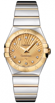 Omega Constellation Polished 27mm 123.20.27.60.58.002