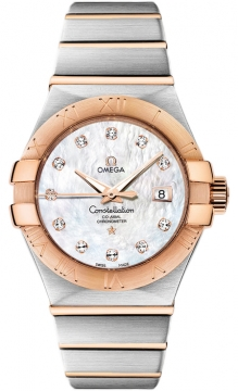 Buy this new Omega Constellation Co-Axial Automatic 31mm 123.20.31.20.55.001 ladies watch for the discount price of £6,154.00. UK Retailer.