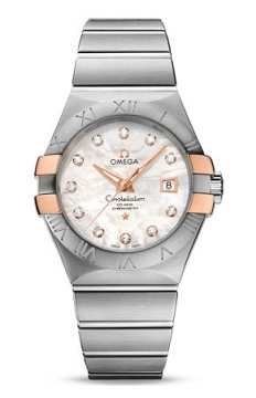 Omega Constellation Co-Axial Automatic 31mm Ladies watch, model number - 123.20.31.20.55.003, discount price of £4,290.00 from The Watch Source