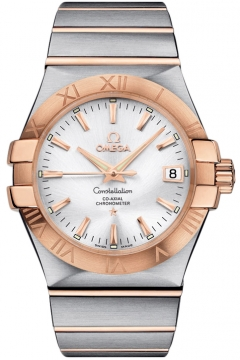 Omega Constellation Co-Axial Automatic 35mm Mens watch, model number - 123.20.35.20.02.001, discount price of £3,740.00 from The Watch Source
