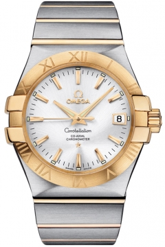 Omega Constellation Co-Axial Automatic 35mm Mens watch, model number - 123.20.35.20.02.002, discount price of £3,740.00 from The Watch Source