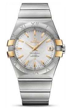 Omega Constellation Co-Axial Automatic 35mm Mens watch, model number - 123.20.35.20.02.004, discount price of £3,191.00 from The Watch Source