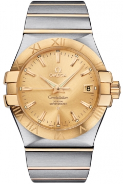Omega Constellation Co-Axial Automatic 35mm Mens watch, model number - 123.20.35.20.08.001, discount price of £3,740.00 from The Watch Source