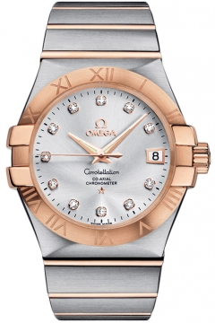 Omega Constellation Co-Axial Automatic 35mm Mens watch, model number - 123.20.35.20.52.001, discount price of £4,545.00 from The Watch Source