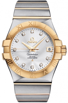 Buy this new Omega Constellation Co-Axial Automatic 35mm 123.20.35.20.52.002 mens watch for the discount price of £5,076.00. UK Retailer.