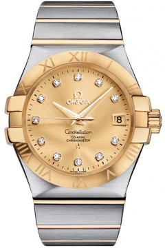 Omega Constellation Co-Axial Automatic 35mm Mens watch, model number - 123.20.35.20.58.001, discount price of £5,076.00 from The Watch Source