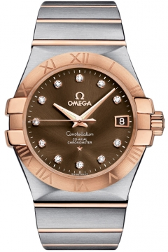 Omega Constellation Co-Axial Automatic 35mm Mens watch, model number - 123.20.35.20.63.001, discount price of £5,076.00 from The Watch Source