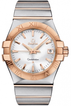 Omega Constellation Quartz 35mm Mens watch, model number - 123.20.35.60.02.001, discount price of £2,870.00 from The Watch Source