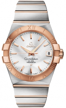 Buy this new Omega Constellation Co-Axial Automatic 38mm 123.20.38.21.02.001 mens watch for the discount price of £5,328.00. UK Retailer.