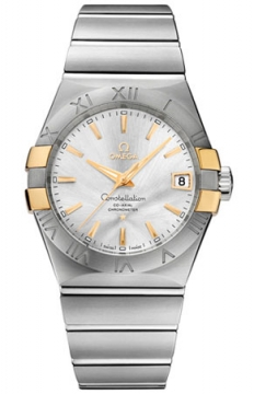 Buy this new Omega Constellation Co-Axial Automatic 38mm 123.20.38.21.02.005 mens watch for the discount price of £4,464.00. UK Retailer.