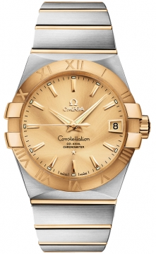 Buy this new Omega Constellation Co-Axial Automatic 38mm 123.20.38.21.08.001 mens watch for the discount price of £5,328.00. UK Retailer.