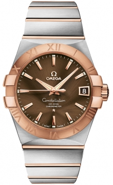 Omega Constellation Co-Axial Automatic 38mm Mens watch, model number - 123.20.38.21.13.001, discount price of £4,775.00 from The Watch Source