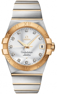 Omega Constellation Co-Axial Automatic 38mm Mens watch, model number - 123.20.38.21.52.002, discount price of £6,084.00 from The Watch Source