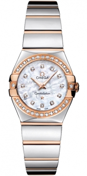 Buy this new Omega Constellation Polished 24mm 123.25.24.60.55.005 ladies watch for the discount price of £4,536.00. UK Retailer.