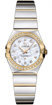 Omega Constellation Polished 24mm Ladies watch, model number - 123.25.24.60.55.007, discount price of £4,060.00 from The Watch Source