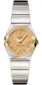 Buy this new Omega Constellation Polished 24mm 123.25.24.60.58.002 ladies watch for the discount price of £4,548.00. UK Retailer.