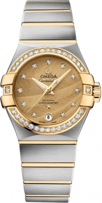Buy this new Omega Constellation Co-Axial Automatic 27mm 123.25.27.20.58.002 ladies watch for the discount price of £7,740.00. UK Retailer.