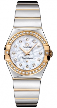 Omega Constellation Polished 27mm Ladies watch, model number - 123.25.27.60.55.007, discount price of £4,510.00 from The Watch Source