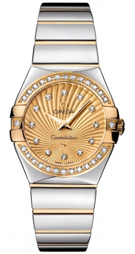 Omega Constellation Polished 27mm Ladies watch, model number - 123.25.27.60.58.002, discount price of £4,450.00 from The Watch Source