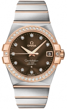 Omega Constellation Co-Axial Automatic 38mm Mens watch, model number - 123.25.38.21.63.001, discount price of £9,740.00 from The Watch Source