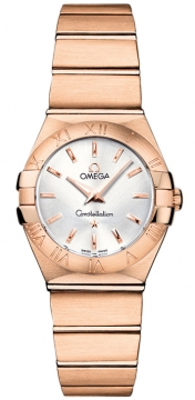 Buy this new Omega Constellation Brushed 24mm 123.50.24.60.02.001 ladies watch for the discount price of £6,903.00. UK Retailer.