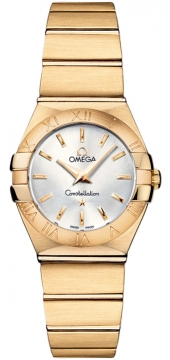 Omega Constellation Brushed 24mm Ladies watch, model number - 123.50.24.60.02.002, discount price of £6,515.00 from The Watch Source