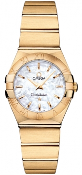 Buy this new Omega Constellation Brushed 24mm 123.50.24.60.05.002 ladies watch for the discount price of £8,369.00. UK Retailer.