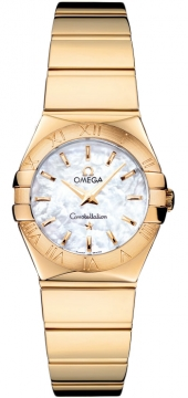 Omega Constellation Polished 24mm Ladies watch, model number - 123.50.24.60.05.004, discount price of £7,632.00 from The Watch Source