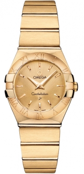 Buy this new Omega Constellation Brushed 24mm 123.50.24.60.08.001 ladies watch for the discount price of £7,488.00. UK Retailer.