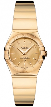 Omega Constellation Polished 24mm Ladies watch, model number - 123.50.24.60.08.002, discount price of £6,705.00 from The Watch Source