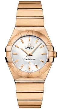 Omega Constellation Brushed 27mm Ladies watch, model number - 123.50.27.60.02.001, discount price of £8,127.00 from The Watch Source