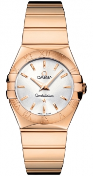 Omega Constellation Polished 27mm Ladies watch, model number - 123.50.27.60.02.003, discount price of £7,675.00 from The Watch Source
