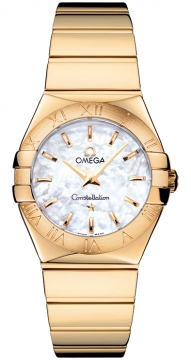 Buy this new Omega Constellation Polished 27mm 123.50.27.60.05.004 ladies watch for the discount price of £9,824.00. UK Retailer.