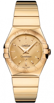 Omega Constellation Polished 27mm Ladies watch, model number - 123.50.27.60.08.002, discount price of £8,370.00 from The Watch Source