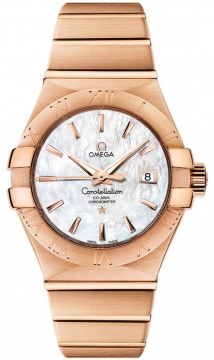 Buy this new Omega Constellation Co-Axial Automatic 31mm 123.50.31.20.05.001 ladies watch for the discount price of £13,419.00. UK Retailer.