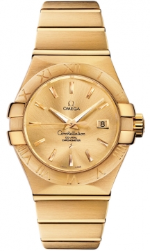 Buy this new Omega Constellation Co-Axial Automatic 31mm 123.50.31.20.08.001 ladies watch for the discount price of £13,284.00. UK Retailer.