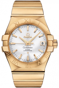 Omega Constellation Co-Axial Automatic 35mm Mens watch, model number - 123.50.35.20.02.002, discount price of £13,896.00 from The Watch Source