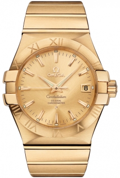 Omega Constellation Co-Axial Automatic 35mm Mens watch, model number - 123.50.35.20.08.001, discount price of £12,450.00 from The Watch Source